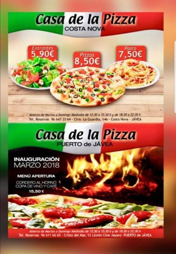 Casa De La Pizza Ii Xàbia Tourism Portal Town Council Of
